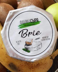 Бри Brie (благородная белая плесень) Фабрика Сыров 150 гр
