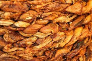 Дыня сушеная плетеная 1 кг (Узбекистан)
