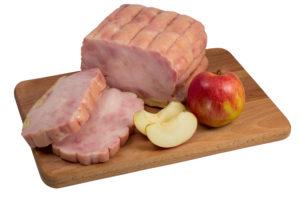 Мясо гуся с яблоками