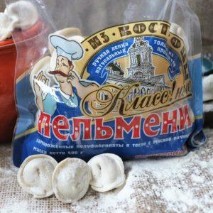"""Пельмени """"Классные"""" (г.Кострома) 400 гр"""