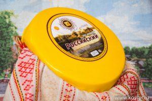 Российский Костромской сыр 7-8 кг.