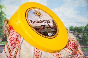 Тильзитер Костромской сыр 7-8 кг.
