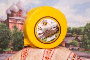 Воскресенский Костромской сыр 1,7-2 кг.