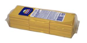 """Чеддер Бистро """"Хохланд"""" ломтики (84 шт.) 1 кг Удобно для бутербродов"""
