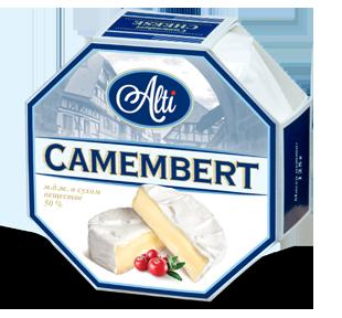 Алти Камамбер- Alti Camembert 125 гр. (благородная белая плесень)