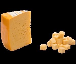 """""""Сливочный"""" Костромской сыр. Вохомский сырзавод 0.2 кг"""