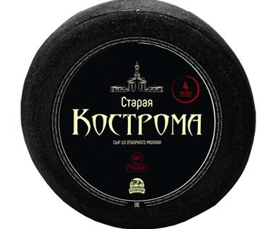 """Старая Кострома"" Костромской сыр. Комбинат Мантурово 1 кг"