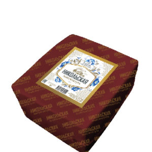 "Сыр ""Гжель"" с ароматом сливок (квадрат) 1.5 кг Курск"