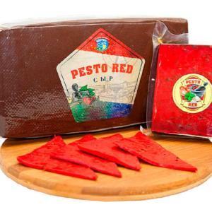 """Сыр """"Pesto Red"""" """"Песто рэд"""" с зеленью и чесноком Беларусь 3,5кг"""