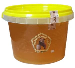 """Натуральный мед """"Цветочный"""" 1 кг Самарская область с. Утевка, пчеловод Кочетков"""