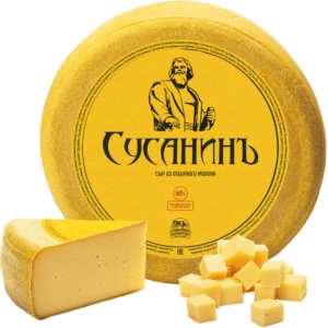 """СусанинЪ"" Костромской вкусный сливочный сыр. Комбинат Мантурово {Кострома} 6 кг"