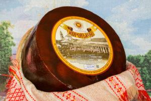 Корольков Костромской сыр со вкусомореха 0,8-1 кг. Индивидуальная вакуумная упаковка