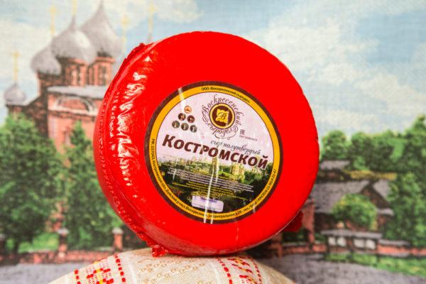 """""""Костромской"""" Костромской сыр 1,7-2 кг."""