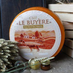 Le Buyere Kostroma Костромской сыр 0,8-1 кг. Индивидуальная вакуумная упаковка.