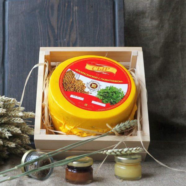 С пажитником Костромской сыр 1.8-2 кг.