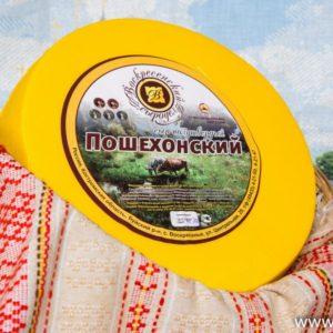 Пошехонский Костромской сыр 7-8 кг.