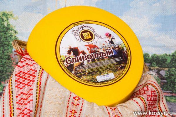 Сливочный Костромской сыр 7-8 кг.