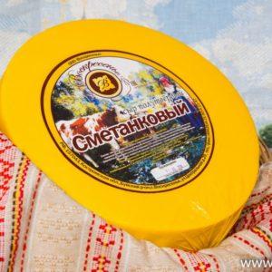 Сметанковый Костромской сыр 7-8 кг.