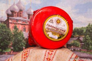 Голландский Костромской сыр (Воскресенский сыродел) 1,7-2 кг.