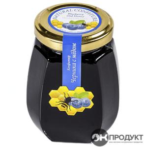 Конфитюр Черника с медом. Костромской 220 гр.