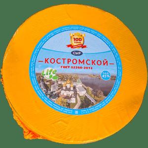 """""""Костромской"""" Костромской сыр 0,2 кг. Костромской район, село Минское"""