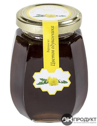 Варенье из Цветков Одуванчика. Костромское 220 гр.
