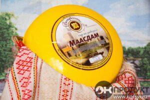 Маасдам Костромской сыр 0,2 кг. Индивидуальная вакуумная упаковка