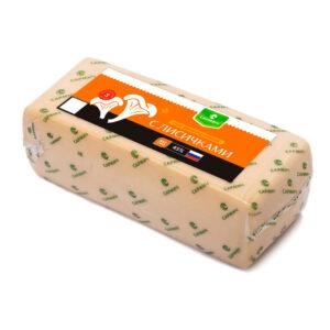сыр с лисичкми