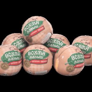 Сыр Малыш с Грецким Орехом-Уникальный сыр с натуральным грецким орехом